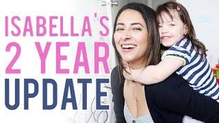 Baixar Isabella's 2 YEAR UPDATE | Language, sleep & raising a STRONG WILLED toddler | Ysis Lorenna