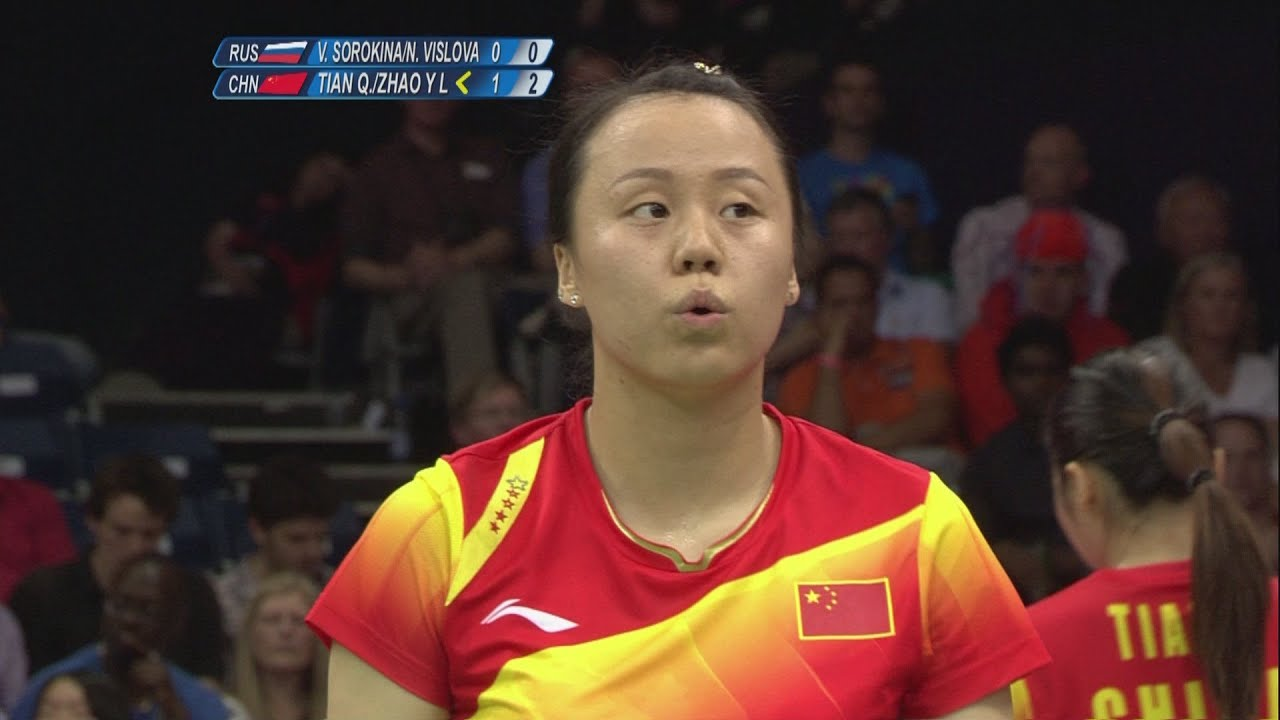 Badminton Women's Doubles Semifinals - Russia v China Full Replay -- London 2012 Olympic Games