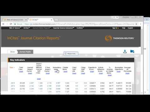 How to find impact factor, journal citation report, journal ranking, etc of a journal (Official) !
