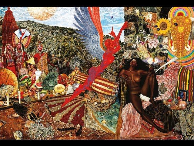 SANTANA - ABRAXAS 1970 | album Cover by Mati Klarwein