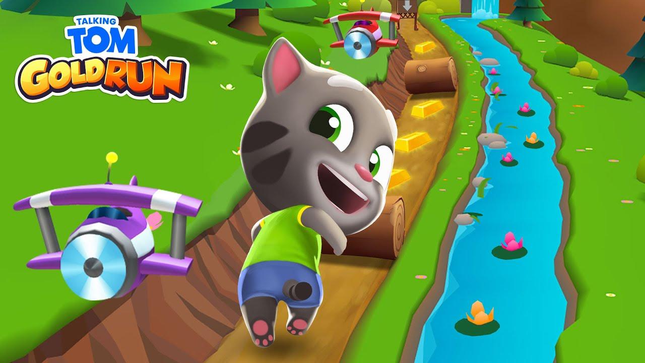 RUN! RUN! RUN! 🏆 ALL THE WORLDS in Talking Tom Gold Run! 🏆 (NEW Gameplay)