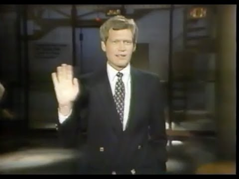 Late Night with David Letterman Ep. #391