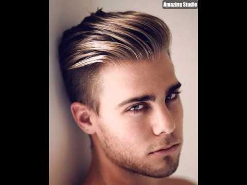 Short Mens Hairstyles Undercut Highlights YouTube