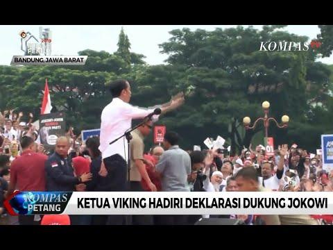 Ketua Viking Hadiri Deklarasi Dukung Jokowi