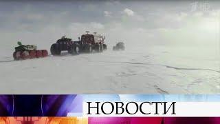 Продолжается первый в истории автономный автопробег по Антарктиде.