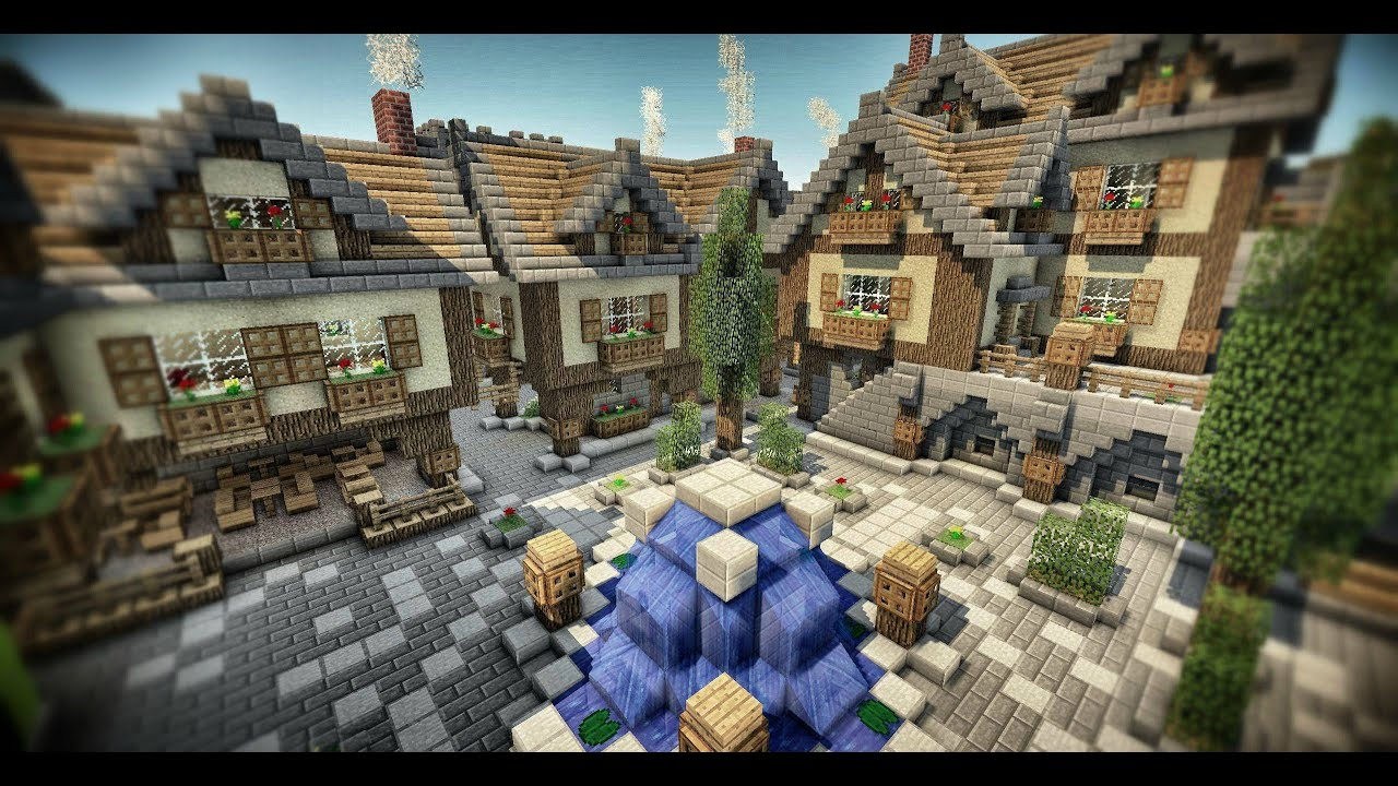 Whole building - Minecraft PS4 - Episode 30 - Tour Medieval :) - YouTube