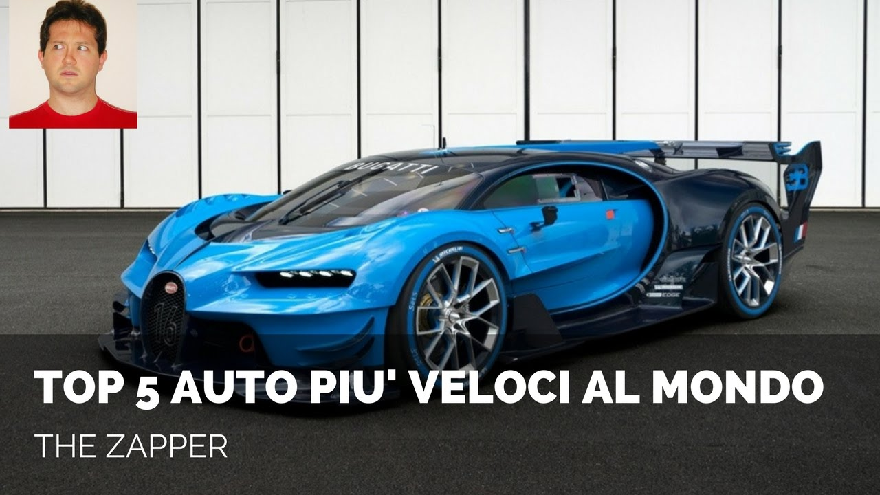 macchine piu veloce del mondo