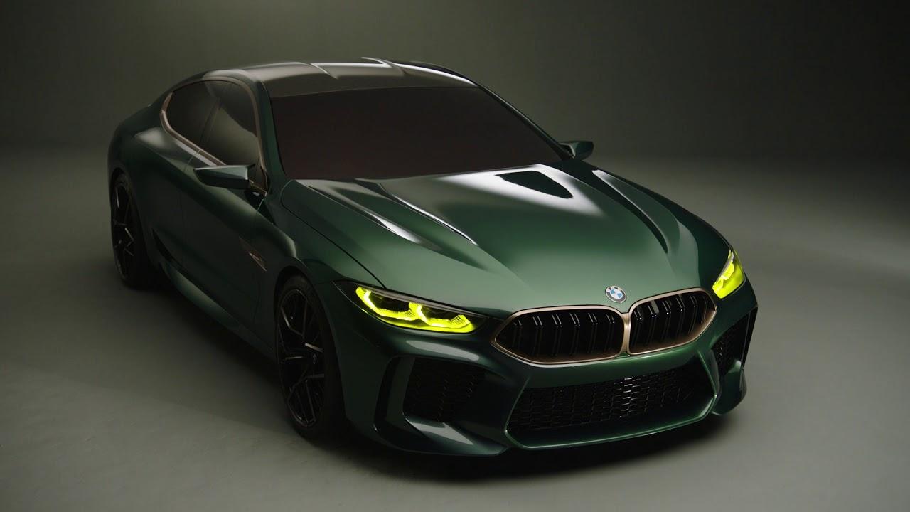bmw m8 gran coupe concept official video [ 1280 x 720 Pixel ]
