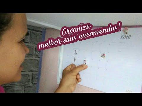 DIY-Calendário Estilo Agenda - Vanessa Pereira