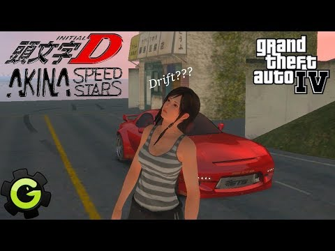 GTA 4 INDONESIA - JAPAN STREET DRIFTING 秋名(AKINA) MOUNTAIN ROADS