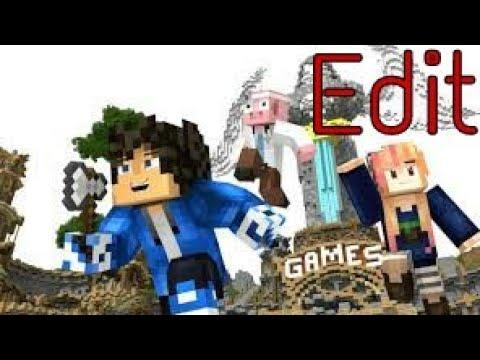 """Hypixel Minigames""-A Minecraft Edited Parody"