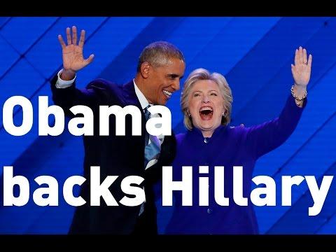 DNC 2016: Barack Obama's impassioned...