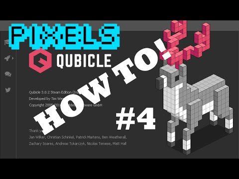 How To Qubicle #4: Pixel to Voxel!