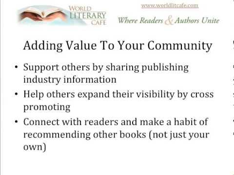 Adding Value to Community, The World Literary Cafe