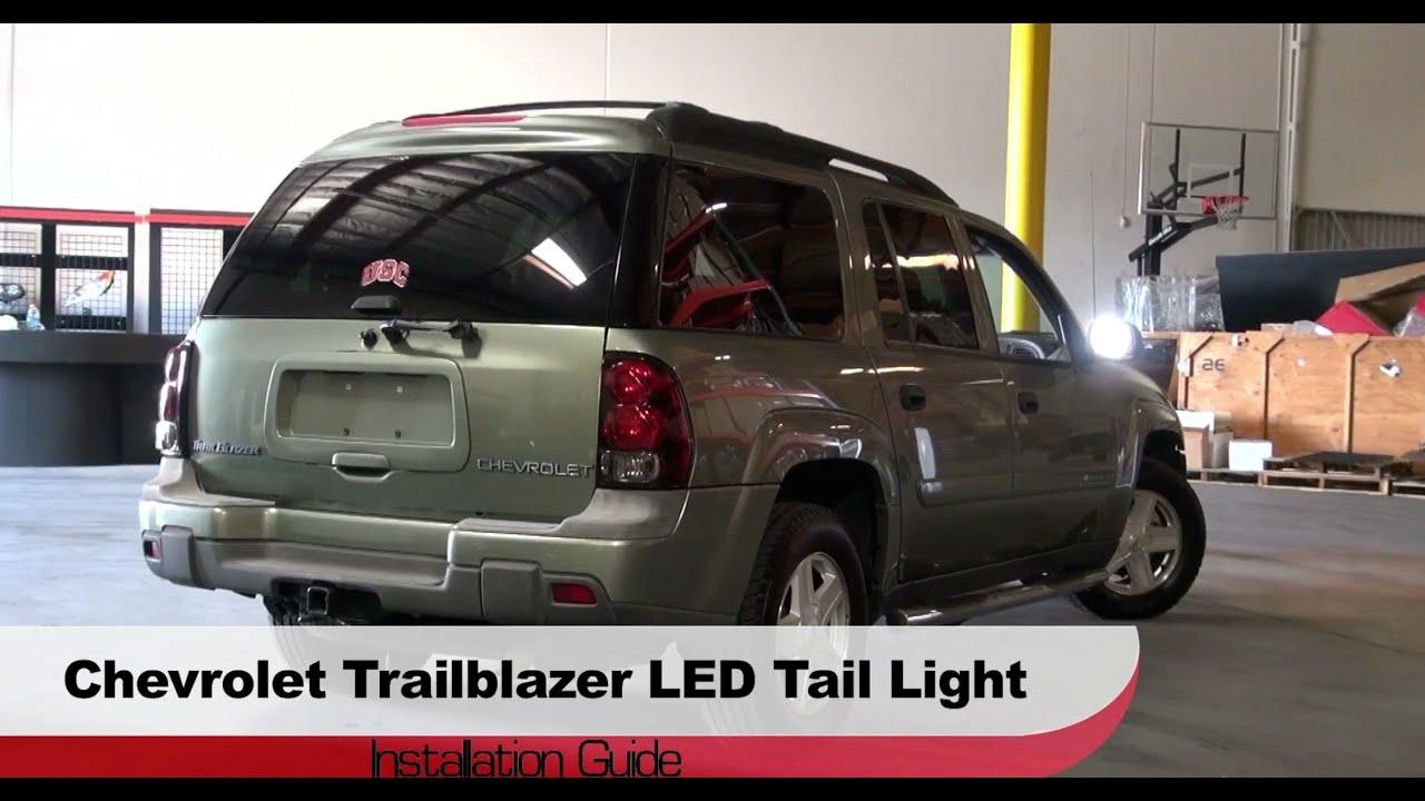 Spyder Auto Installation: 200209 Chevrolet Trailblazer LED Tail Lights  YouTube