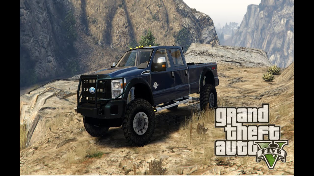 2016 Ford Super Duty >> Grand Theft Auto V 2013 Ford F350 Lifted Off Road HD - YouTube
