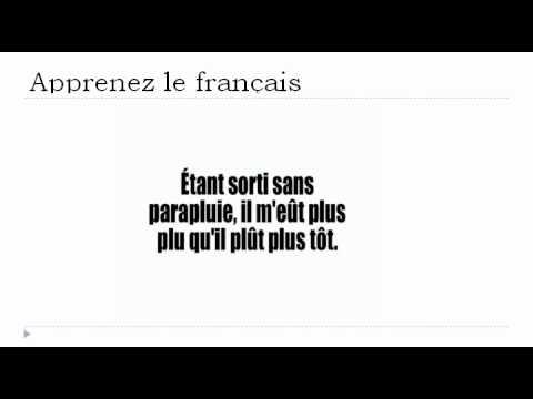 フランス語レッスン = 早口言葉#