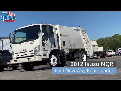 2012 Isuzu NQR W/New Way Rear Loader