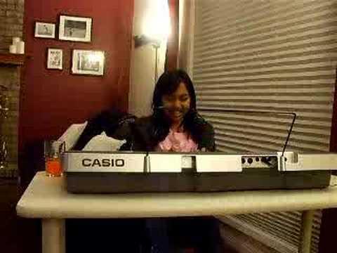 2008 PLAYING THE CASIO KEYBOARD EDMONTON