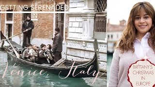 Visiting St  Mark's Square/ Rialto Bridge and Eating Italian Food in Venice, Italy
