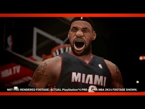 NBA 2K14 Oficial Trailer - Next-Gen PS4 Trailer Feat. Lebron James | New Pre-Alpha Gamplay - E3M13