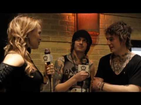 Asking Alexandria Interview- The Backstage Artist Lounge @ SxSW 2012