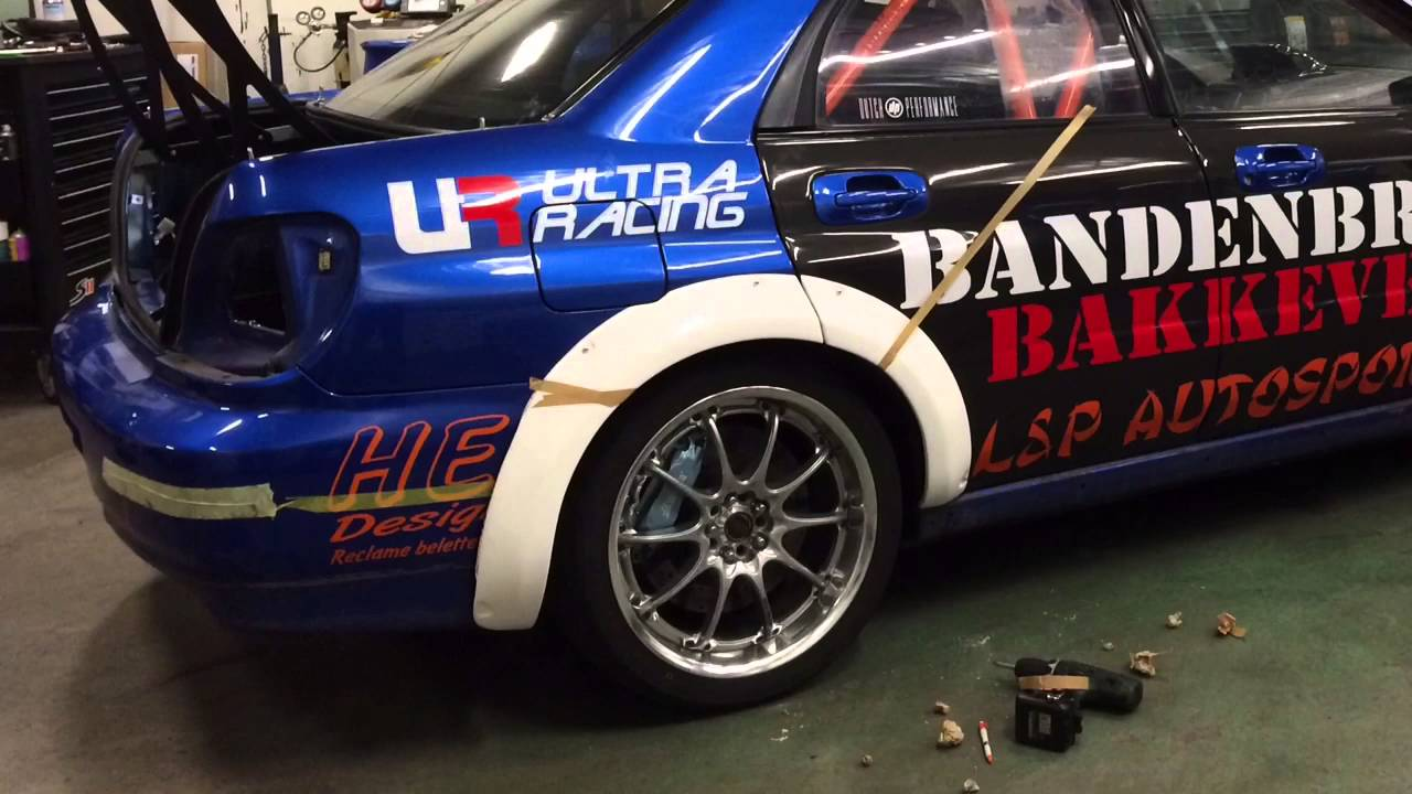 Widebody Subaru Impreza Wrx Sti 600hp Mounting Fender