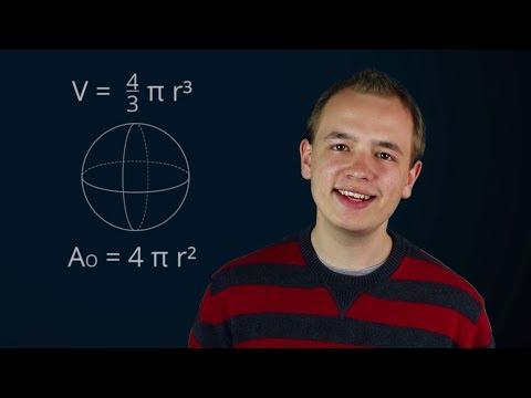 Kugel: Volumen und Oberfläche (Mathe-Song)
