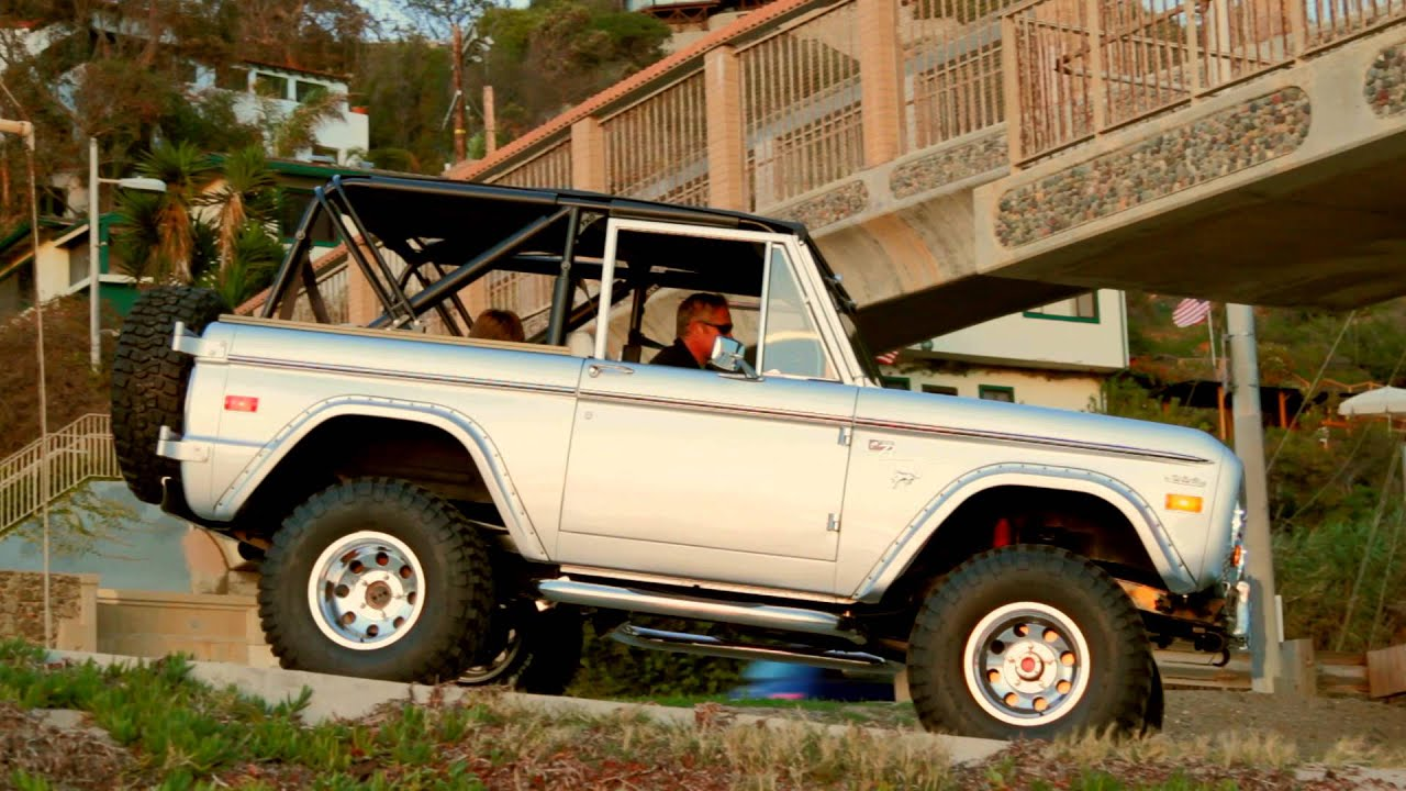 Rocky Roads Classic, Vintage Ford Bronco Builder, Build-A-Bronco