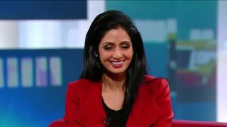 Sridevi On George Stroumboulopoulos Tonight: INTERVIEW