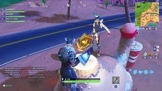 LOCATION of THE FREE PALIER (WEEK 4) - Fortnite Battle Royale!