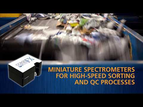 High-Speed Sorting and QC with Ocean FX Spectrometers