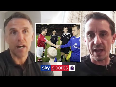 The Nevilles On Competing Against EACH OTHER! 😠 | Gary, Phil & Tracey Neville | Off Script