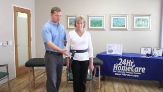 Physical Therapy Exercises Seniors How Properly Use Gait Belt