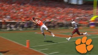 Clemson Tigers: Toe Tap Touchdown Catch by Hunter Renfrow