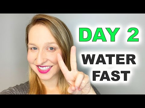 Water Fast: Day 2 -