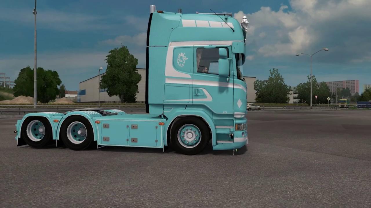 V8 illegal reworked truck v5 0 simulator games mods download - Ets2 1 26x Scania V8 Sound Mod Dlc Accessory