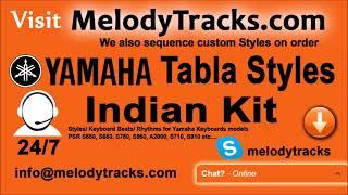 Ibadat Karo Yamaha Tabla Styles Indian Kit PSR S550, S650, S750, S950, A2000, S710, S910