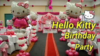 Hello Kitty Theme Decorations - Specialized for Balloon & Birthday Decorations