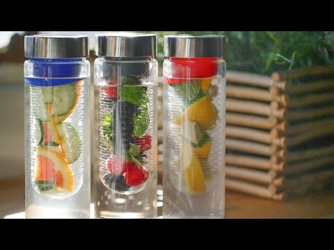 Infuse your H2O with fruits & veggies