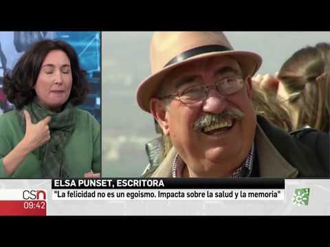 "Elsa Punset - Entrevista nuevo libro ""FELICES"" en Canal Sur. Programa informativo ""Buenos Días"""