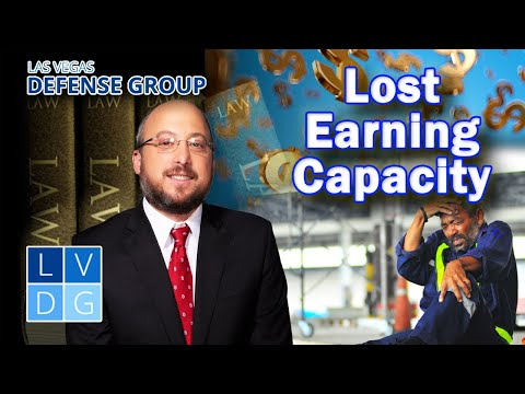 Can I get money for lost earning capacity in Nevada?