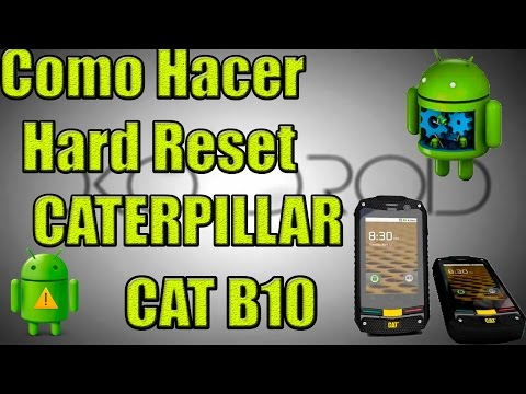 ✔Como Hacer el Hard Reset al Caterpillar B10/ How to hard reset Caterpillar CAT B10