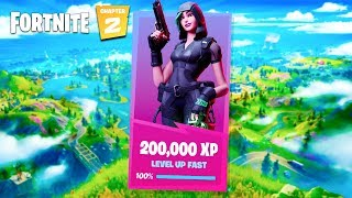 200,000 XP in 1 Game! How to (Fortnite Chapter 2)