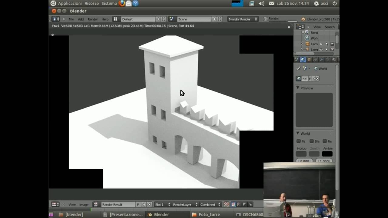 blender modellazione 3d opensource francesco missarino