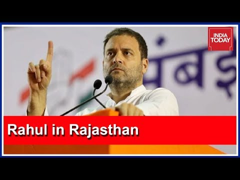Rahul Gandhi Sounds Poll Bugle In Rajasthan