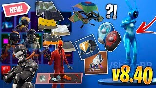 Fortnite v8.40 Skins fuite, Emotes - Plus! (Gemini, 6 Wraps, Electro-Fied, Running Man v2)