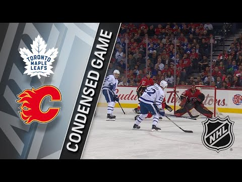 11/28/17 Condensed Game: Maple Leafs @ Flames