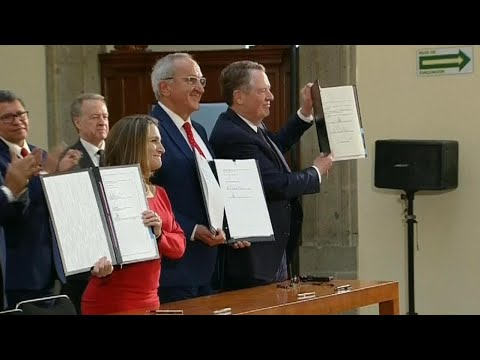 Canada, U.S. and Mexico sign revamped new NAFTA