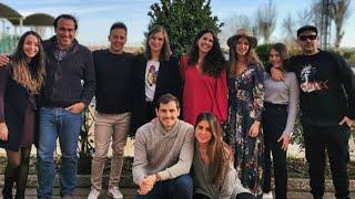 Iker Casillas pasa la Navidad junto a la familia de Sara Carbonero